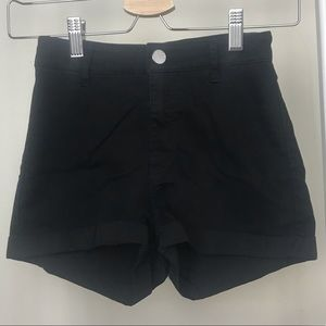 Divided H & M Black High Waisted Shorts Size 4